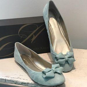 Minty Green Ballet Flats